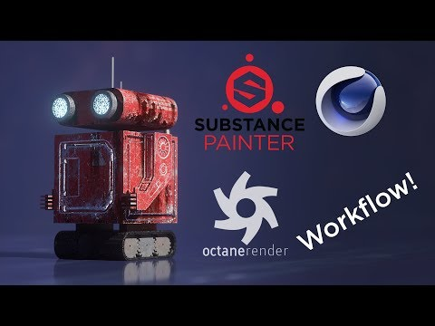 How to Use Substance Painter With Cinema4D in Your Workflow