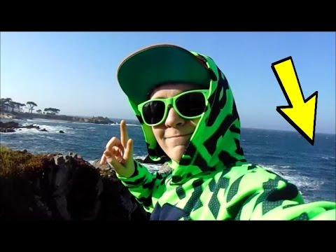 DID I ACTUALLY JUST FIND A GOLD COIN!!!! + VISITING THE PACIFIC OCEAN! JudetheCoolDude Vlog