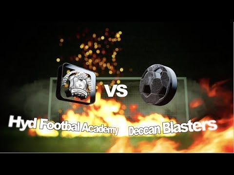 Hyderabad Football Academy Vs Deccan Blasters || 8-Dec-2017