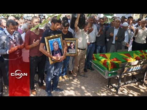 Öcalan'ın ablasının cenazesi toprağa verildi