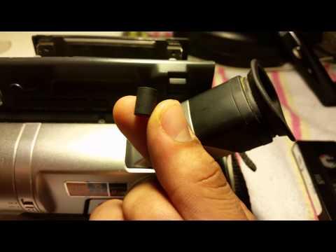 How to fix Sony Hi8 video camera c:31:23 & c:31:22