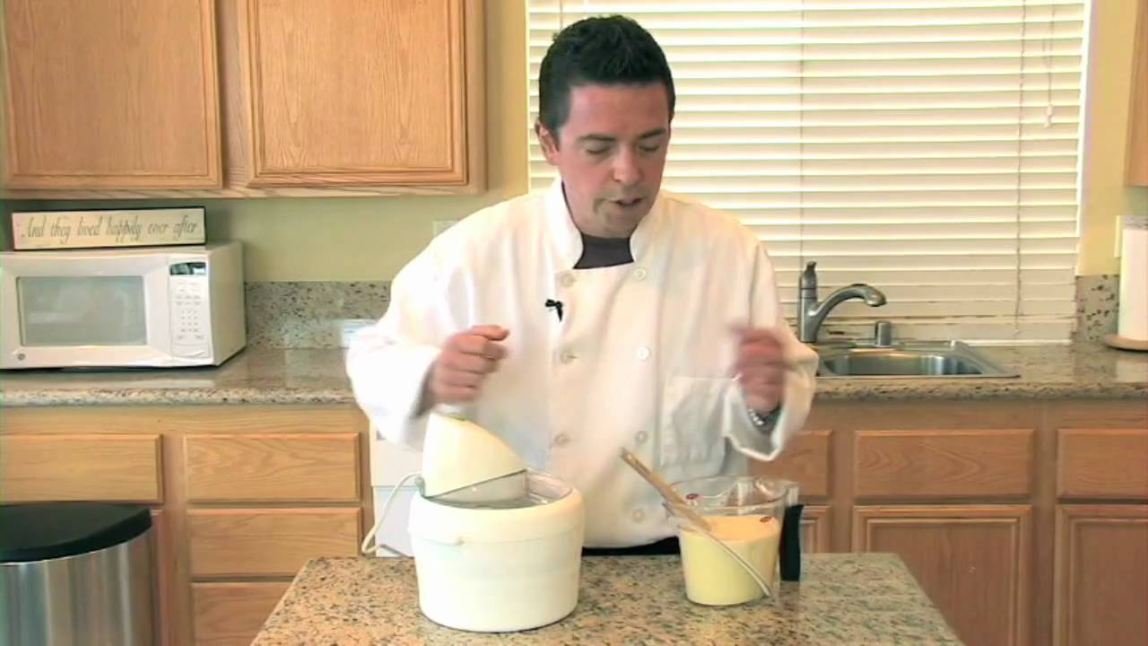 how to make vanilla ice cream in telugu