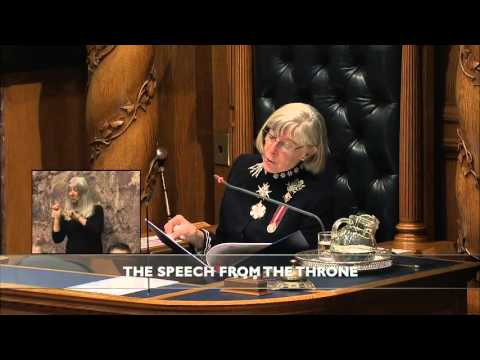 Speech from the Throne 2016