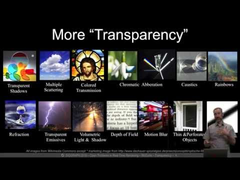Peering Through a Glass, Darkly at the Future of Real-Time Transparency, SIGGRAPH 2016