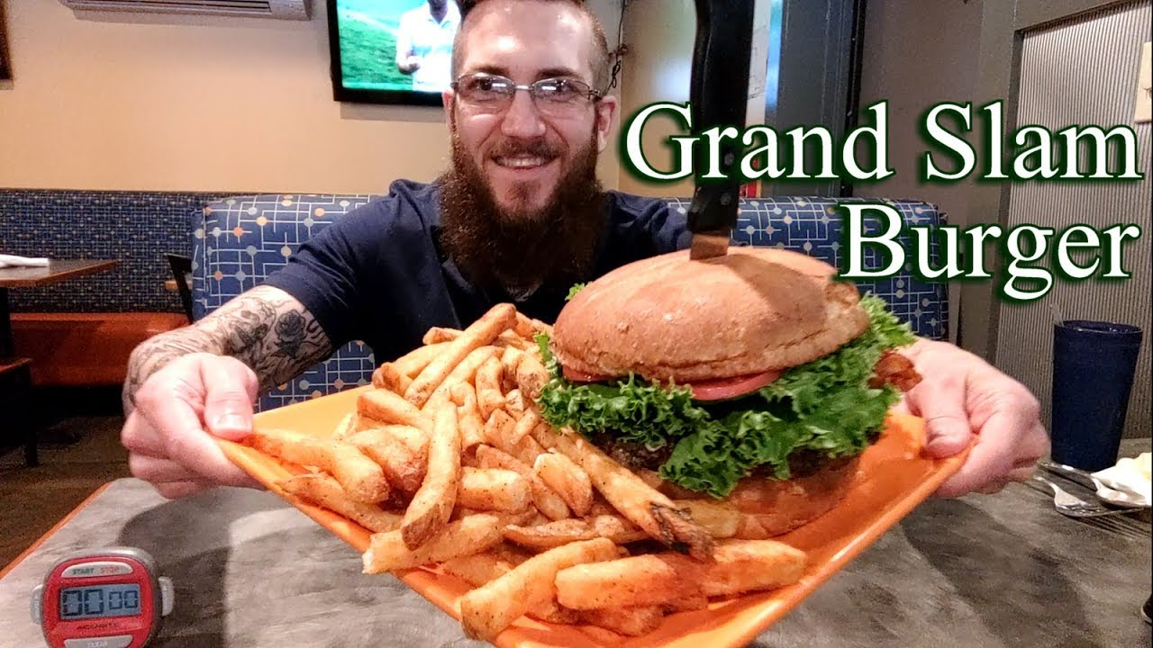 Home Plate Bay S Grand Slam Burger Challenge