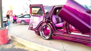 KANDY PURPLE ESCALADE ON 30S