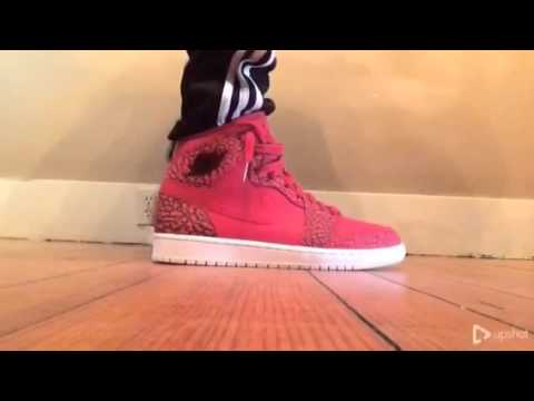 check out cc260 50a1e On Foot: Jordan 1 High Gym Red