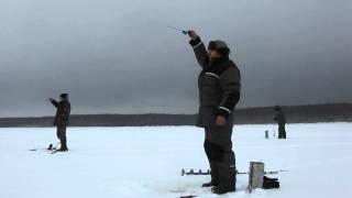 Рыбалка на Рыбинке: первая окунёвая раздача 2013.