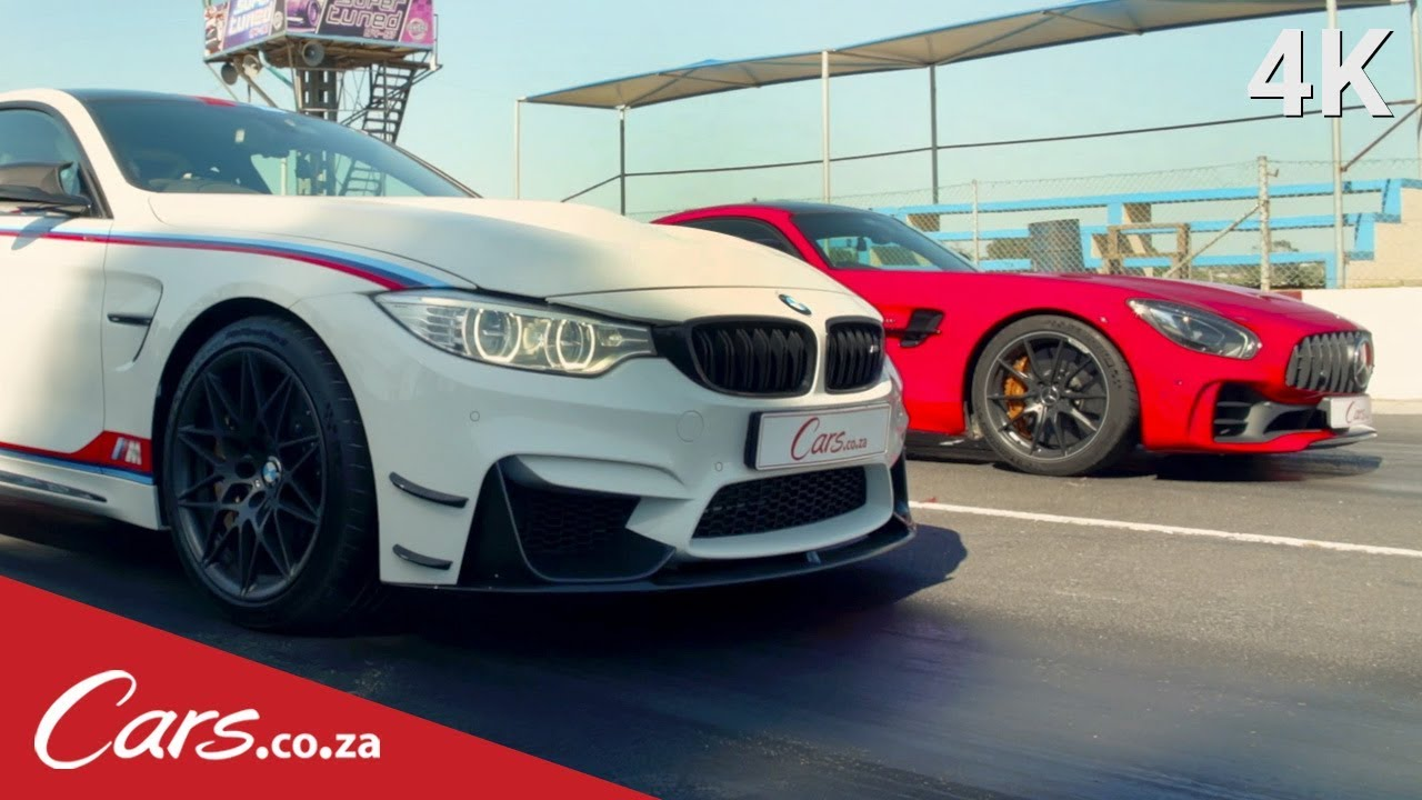 Drag Race Bmw M4 Dtm Vs Mercedes Amg Gtr Part 1 Youtube