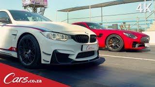 Drag Race   BMW M4 DTM vs Mercedes AMG GTR   Part 1