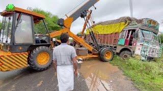 Tripple Hydra Power Puling Tata 10 Tyres Truck
