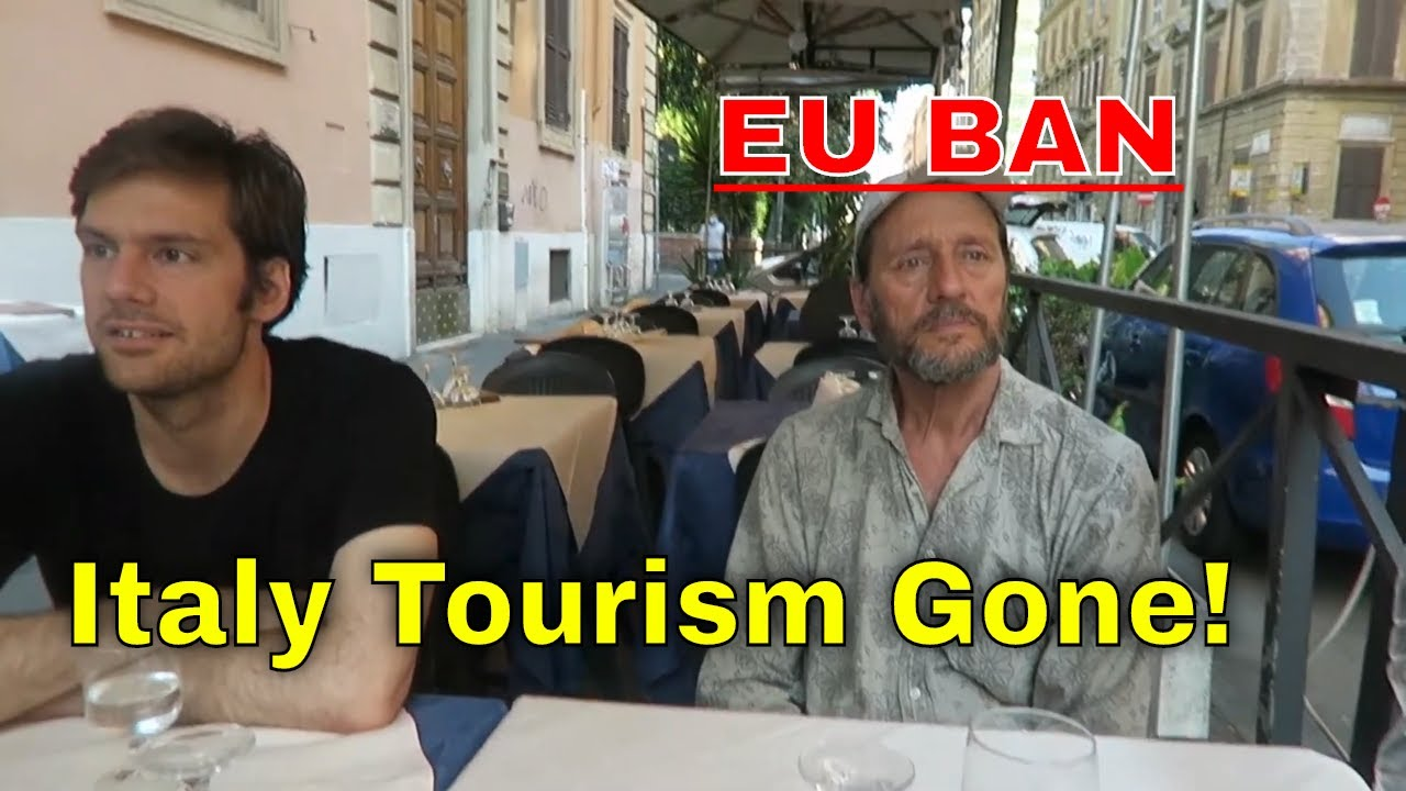 EU BANS AMERICANS: Italians Say 90% Vacancy Rate Because of American Tourist Ban!