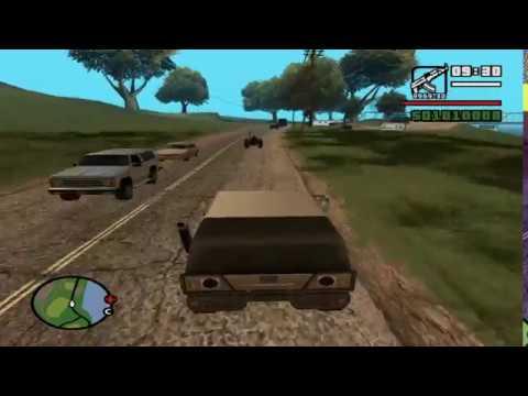 Освобождение Шуша от армян (мод GTA San Andreas)