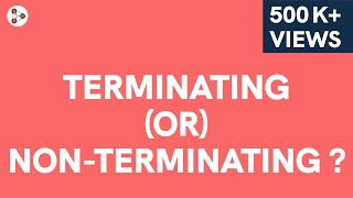 How can we tell if a Rational Number is a Terminating or a Non Terminating Recurring Decimal?