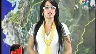 Repeat youtube video El Noticioso: Chica del Tiempo 15-05-12