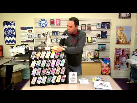 Conde Jeff's Custom Device Case Sales Display Boards -