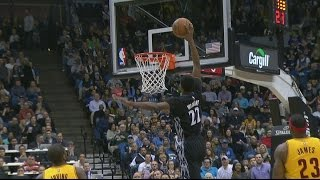 Andrew Wiggins Full Highlights vs Cavs - Career High 33 Points (2015/01/31)