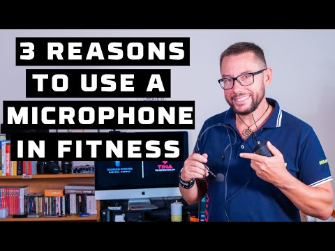 TOP 3 Reasons to use a headset mic to teach fitness classes (1 of 3)