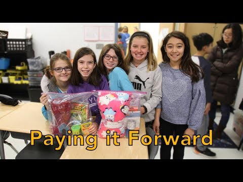 Paying it Forward at Terra Centre Elementary School
