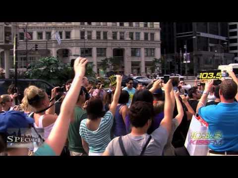 LMFAO # Chicago Shufflin W/ 103.5 KISS FM [OFFCIAL VIDEO]
