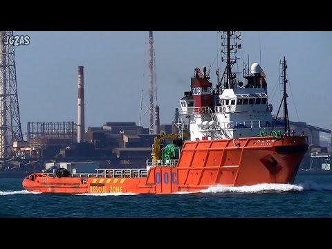 KAIKO かいこう Offshore supply vessel  オフショアサプライ船 OOC 関門海峡 2015-OCT