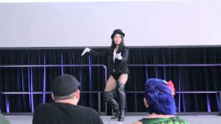 2014 - Amazing Houston Comic Con - Cosplay Contest Zatanna