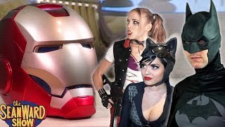 If BATMAN had IRON MAN's Powers... with Catwoman & Harley Quinn - The Sean Ward Show