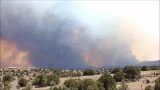 Little Bear Fire Ruidoso, New Mexico 6-9-2012.