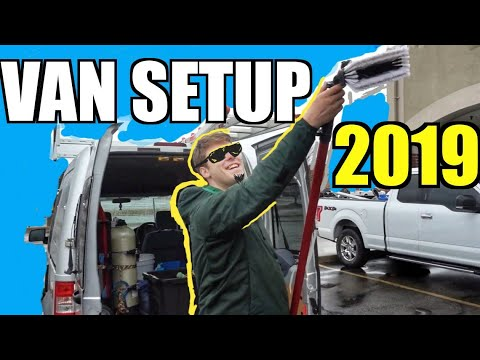 Basic Window Cleaner Van Setup Full