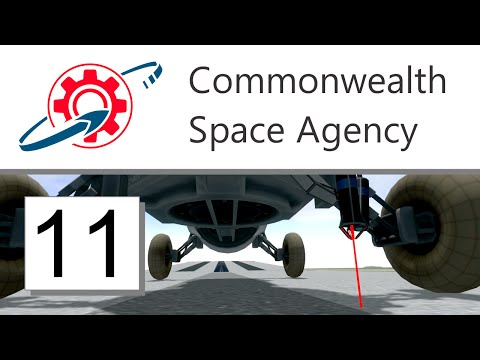 Kerbal Commonwealth Space Agency - 11. Lasers & Jetplanes (KSP 1.0.4)