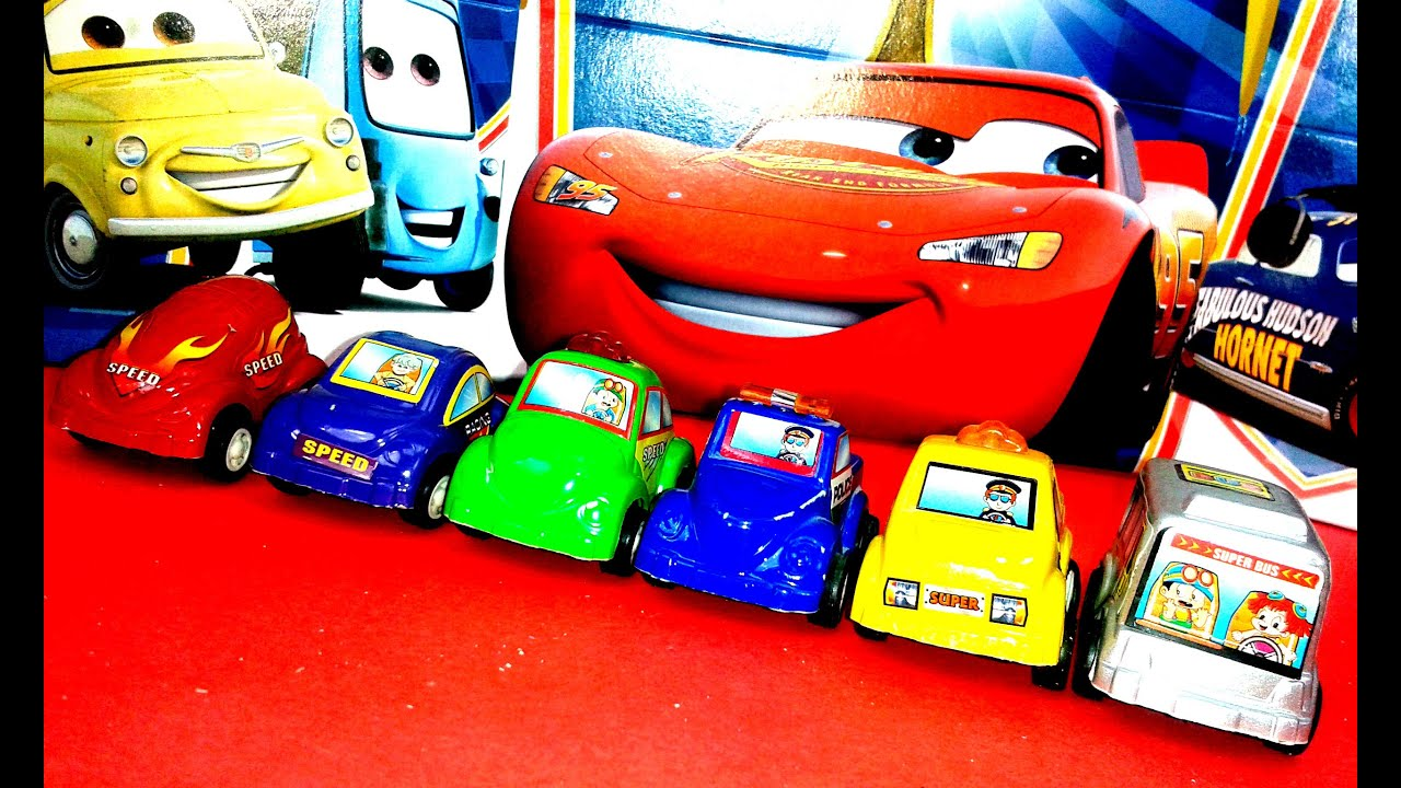 video para nios de coches juguete de muchos colores video para pequeos youtube