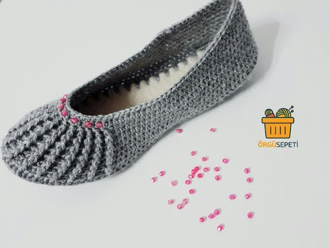 Bayan patik yapımı|how to make a ladies booty | knitting