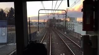 [タイムラプス]京王電鉄相模原線 準特急 京王永山駅→橋本駅 [Time-lapse] Keio Sagamihara Line Keio-nagayama→Hashimoto
