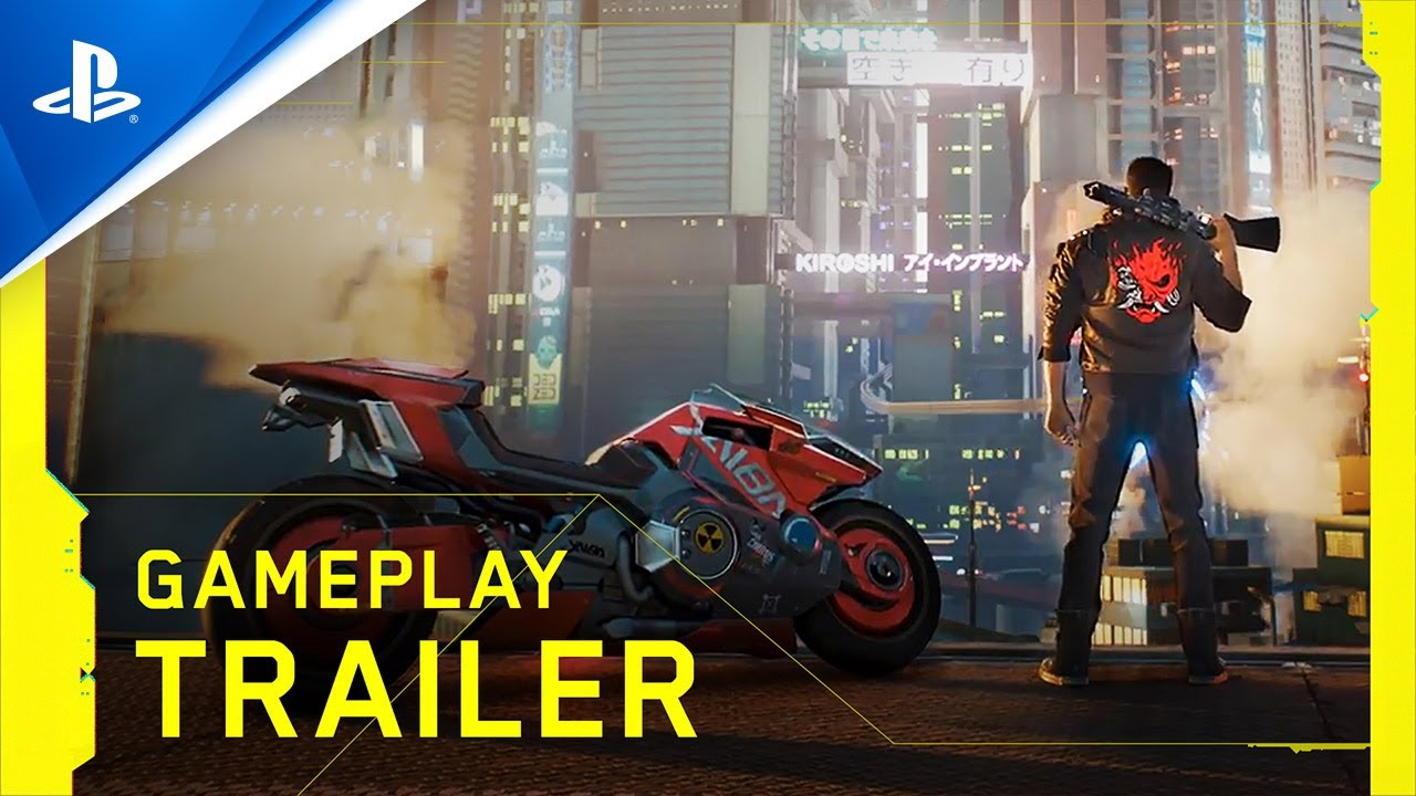 Cyberpunk 2077 - Gameplay Trailer | PS4