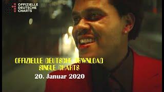 TOP 40: Offizielle Deutsche Download Single Charts / 20. Jan '20