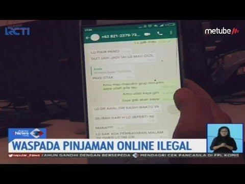 Waspada Pinjaman Online Ilegal Nasabah Diteror Sis 31 07 Youtube