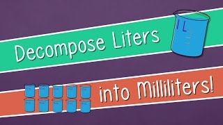 decompose liters into milliliters    engageny grade 3 module 2 lesson 9