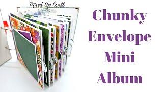Envelope Mini Album • Chunky Mini Album • DIY Photo Album