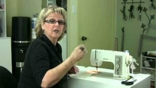 comment fonctionne une machine à coudre