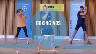 NEW Body Project Boxing Abs cardio workout from home