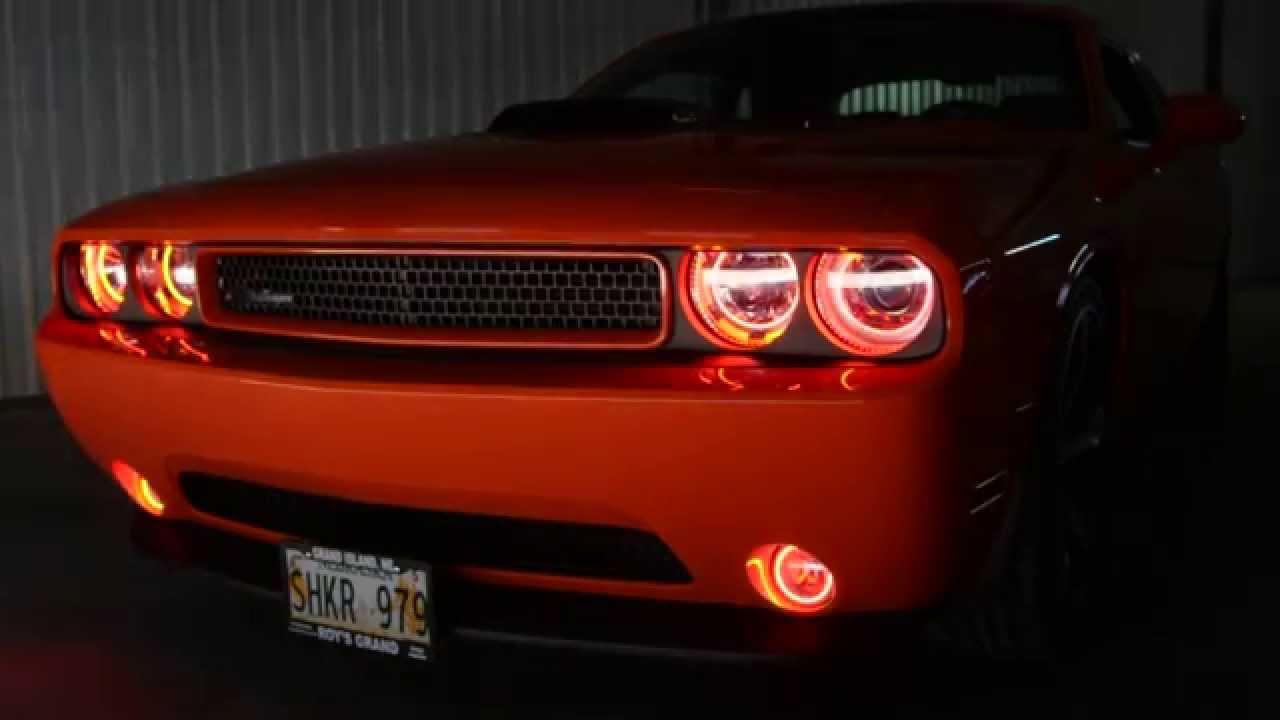 & 2013 Dodge Challenger Oracle Lighting Halo Kit Install - YouTube azcodes.com