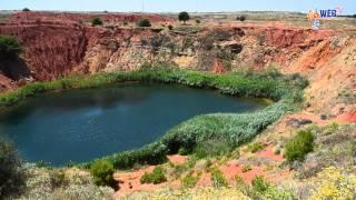 La straordinaria bellezza del Lago di Bauxite - Otranto 29 giugno 2012 | InOnda WebTv