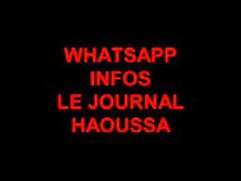 Le journal groupe media whatsapp haoussa