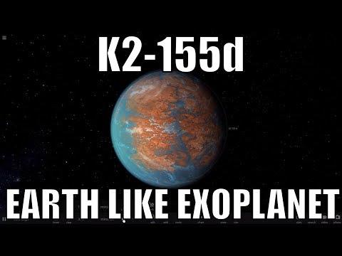 NASA Discovers a New Earth Like Exoplanet K2-155d