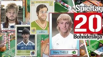 20. Spieltag der Fußball-Bundesliga in der Analyse mit Manu Thiele | Saison 2019/2020 Bohndesliga