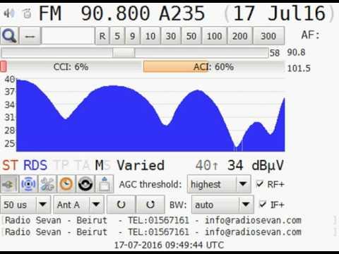 [ES] 90.8MHz - Radio Sevan - Lebanon/Beirut (2227km)