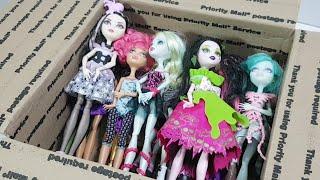 Куклы Монстер Хай плюсы и минусы. Игра Со Зрителями и Посылка С Куклами