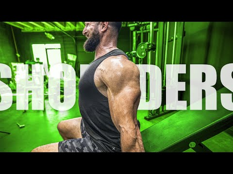 5 Dumbbell Shoulder Exercises (THAT WILL BLOW UP THOSE DELTS!!)