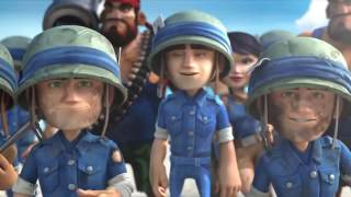 Boom Beach Movie   Full Animated Boom Beach Animation  Extended Version