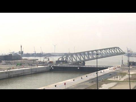 Anvers la belgique inaugure la plus grande cluse au monde youtube - Port d anvers belgique adresse ...